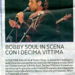 DECIMA VITTIMA ALL'HOPS DEC 2010 SECOLO XIX