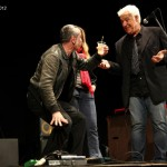 Festa al Teatro Ariston, con l&#039;organizzatore Lugi &quot;Dillo&quot; Di Lorenzo