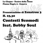 contesti presentazione zenatron. TEATRO CLAQUE
