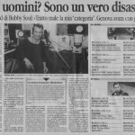 INTERVISTA LA STAMPA GENOVA