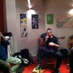 """Pazza Idea - Sarzana 15 gen 2012 con Andrea """"Lupo"""" Giannoni"""