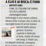 Funk In Italia su Venerdì di Repubblica, 218.12.09
