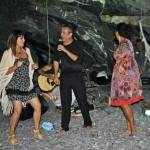baracca merellin, camogli, estate 2012 con renata busatto