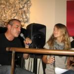 Ottobre 2012 - Evento Caffè Roma con Cecilia Capanna