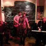 con James & Black Trampa Genova 19 feb 15