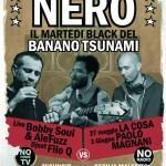 Nero, tutti i Martedì estivi al Banano Tsunami, Genova