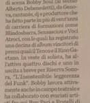 15 Mag 15 Sul quotidiano La Provincia (Sondrio)