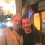 Al Vincaffè di Alba con uno dei personaggi più straordinari in cui ci siamo imbattuti, il Conte Romano Gritti!