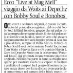"La Stampa/Mercantile 11 Lug 13 recensione ""Live at Mag Mell"" - Francesco Casuscelli"